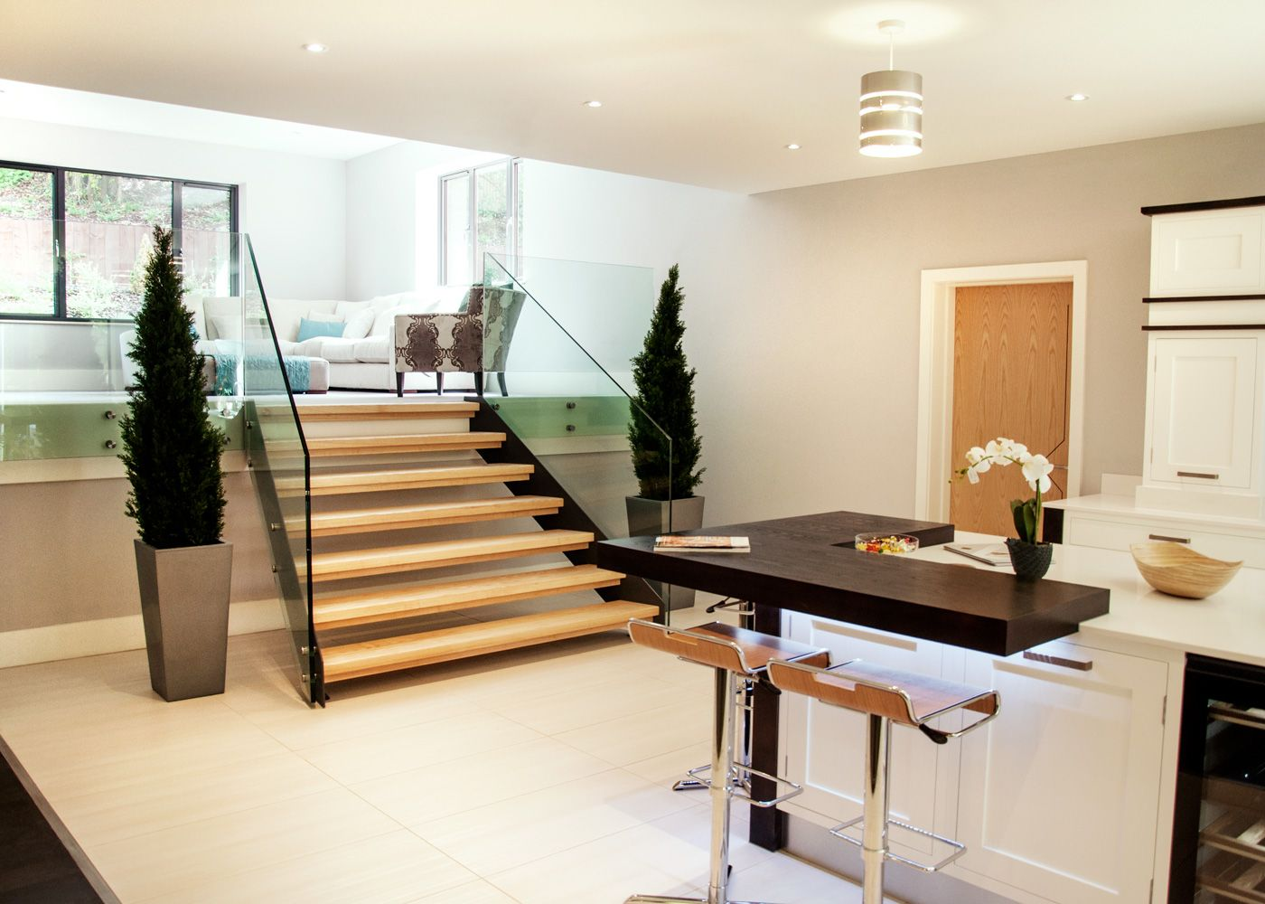 Best Straight Staircases By Stairs Straight Stairs Modern 400 x 300