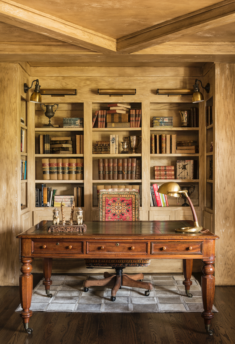 Library Desk By Goddard Design Group House And Home Magazine Home Office Design Home