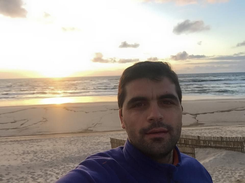 Passagem na praia de Pedrogão para ver o pôr do Sol... Muito fixe!
