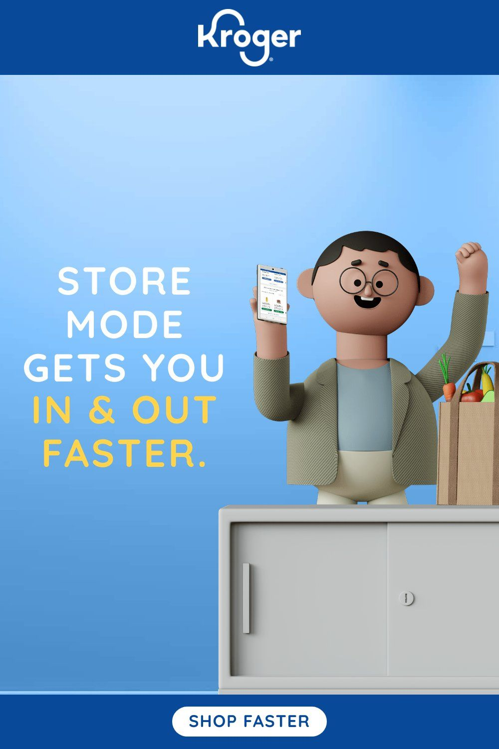 In-Store Mode Gets You In & Out Faster.