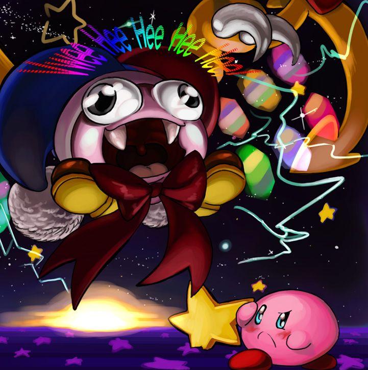Kirby Super Star Kirby V Marx By Elazuls Core On Deviantart Kirby Anime Funny Kirby Games