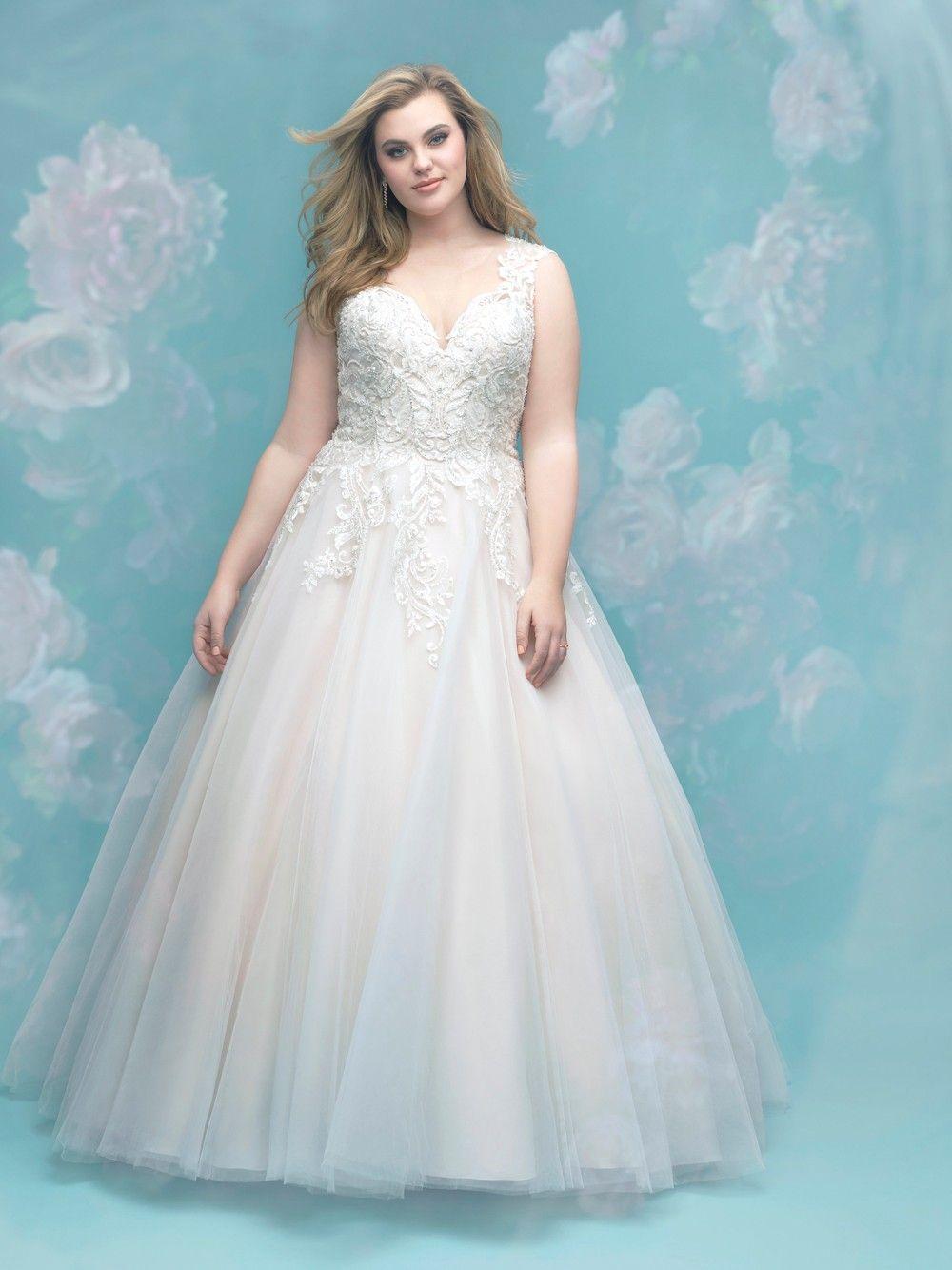 Allure Bridals W401 Wedding Dress Weddingdresses Wedding Bride Allurebridals Allure Plussiz Ball Gowns Wedding Allure Bridal Lace Womens Wedding Dresses