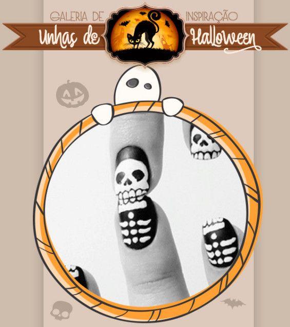 Prepare suas unhas para o Halloween!