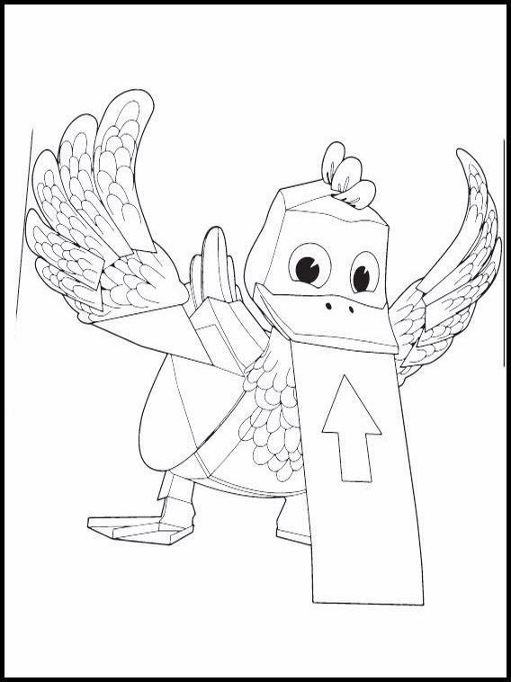 Dibujos para Colorear. Dibujos para imprimir y pintar Zack y Quack 5 ...