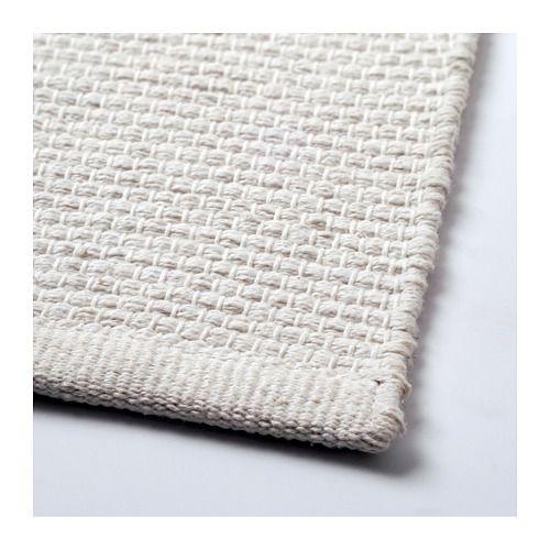 GUNDSLEV Matta, slätvävd, vit handgjord vit handgjord vit 140x200 - küchenrückwand plexiglas kosten
