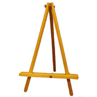 Buy Or Make Tabletop Easels  This Beechwood Table Easel Is Great For  Displaying Your Favorite