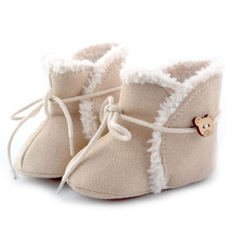 1efee3bad0e26 Winter Toddler Snow Boots Cute Infant Shoes Baby Boy Girls Shoes ...