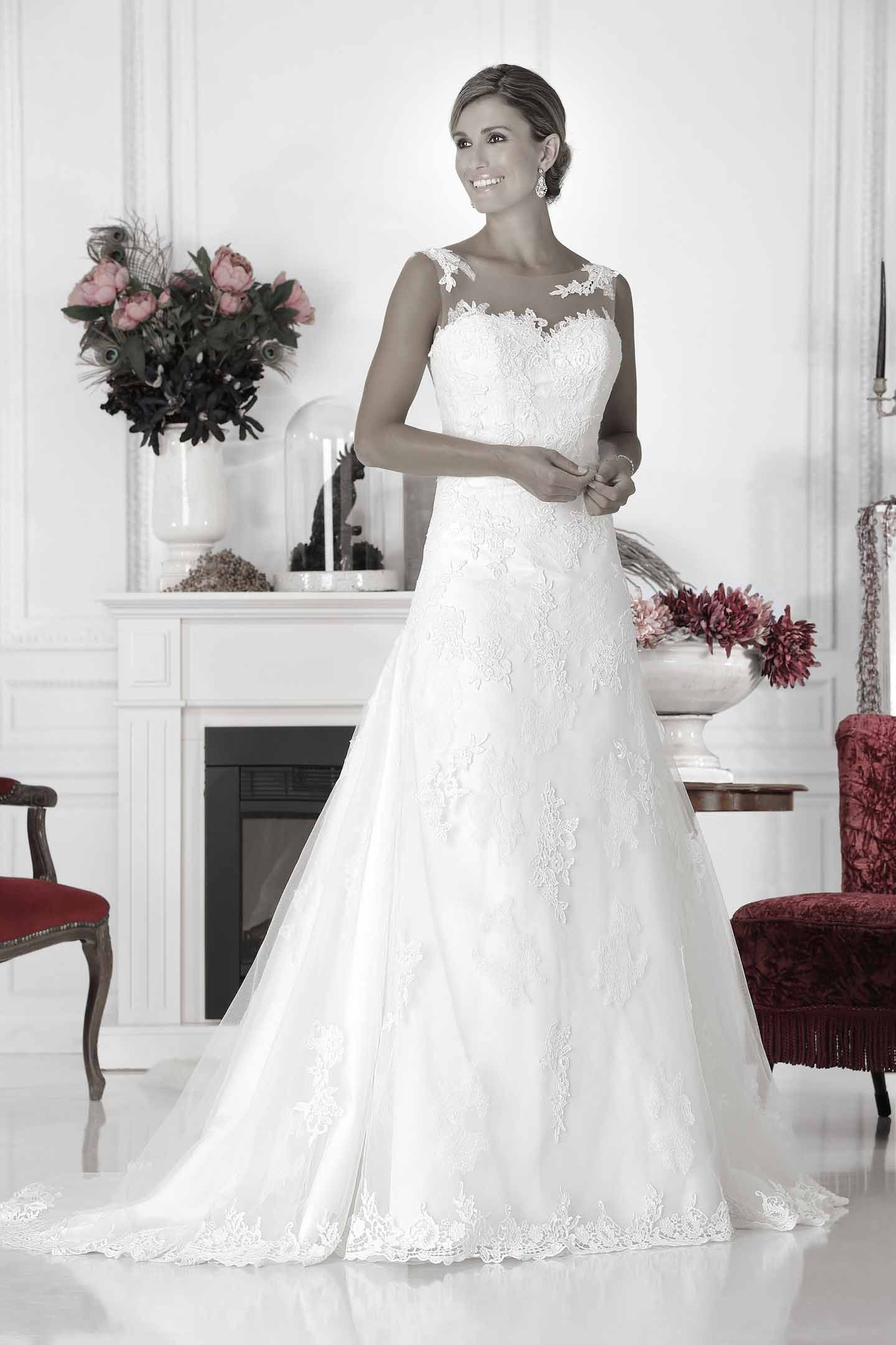 Wedding Dress lace Pure - PU9904 | Pure 2017 | Pinterest | Wedding ...
