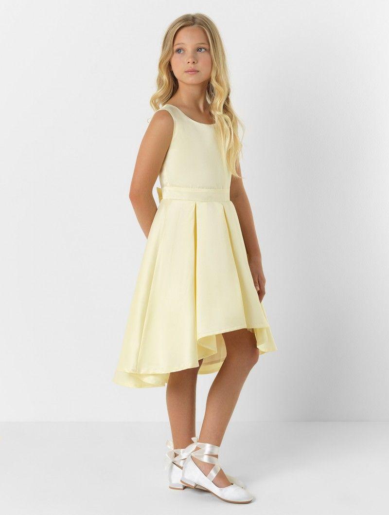 Girls lemon eloquence dress belle in wedding ideas