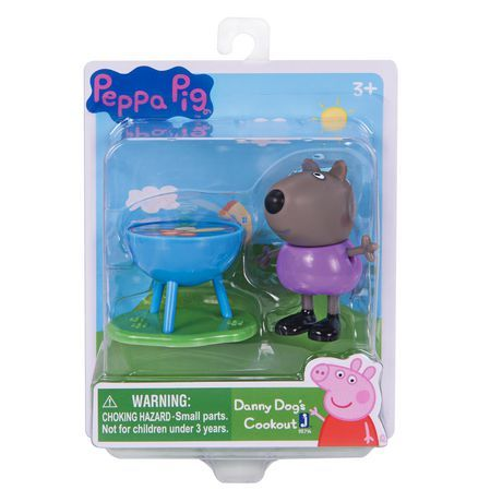 Fortnite Peppa Pig Danny Dog With Bbq Grill Cook Play Set