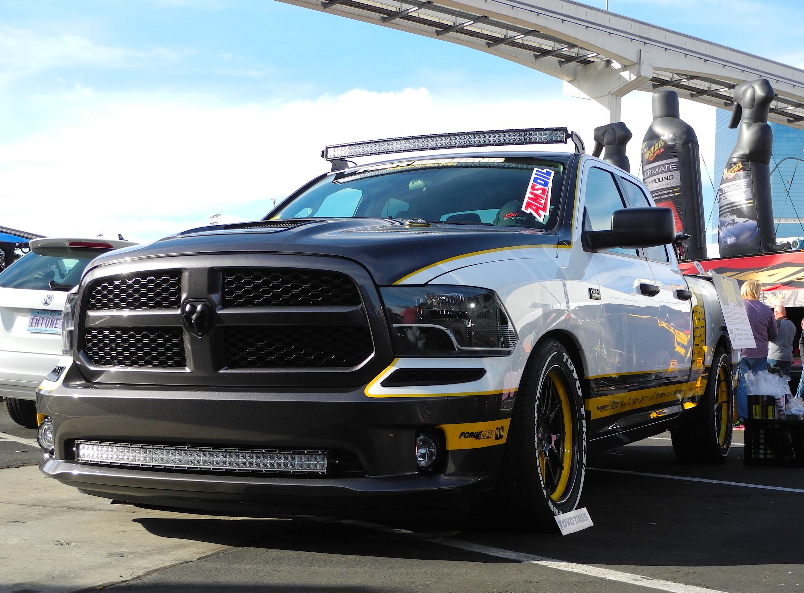 """Pfaff Designs debuted their new """"Draggin Wagon"""" shop truck"""