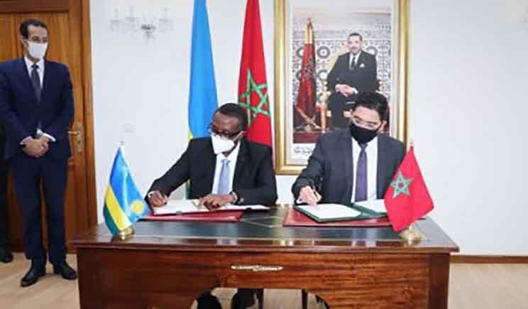 المغرب ورواندا يوقعان على اتفاقيتين للتعاون الثنائي In 2020 Talk Show Scenes Rwanda