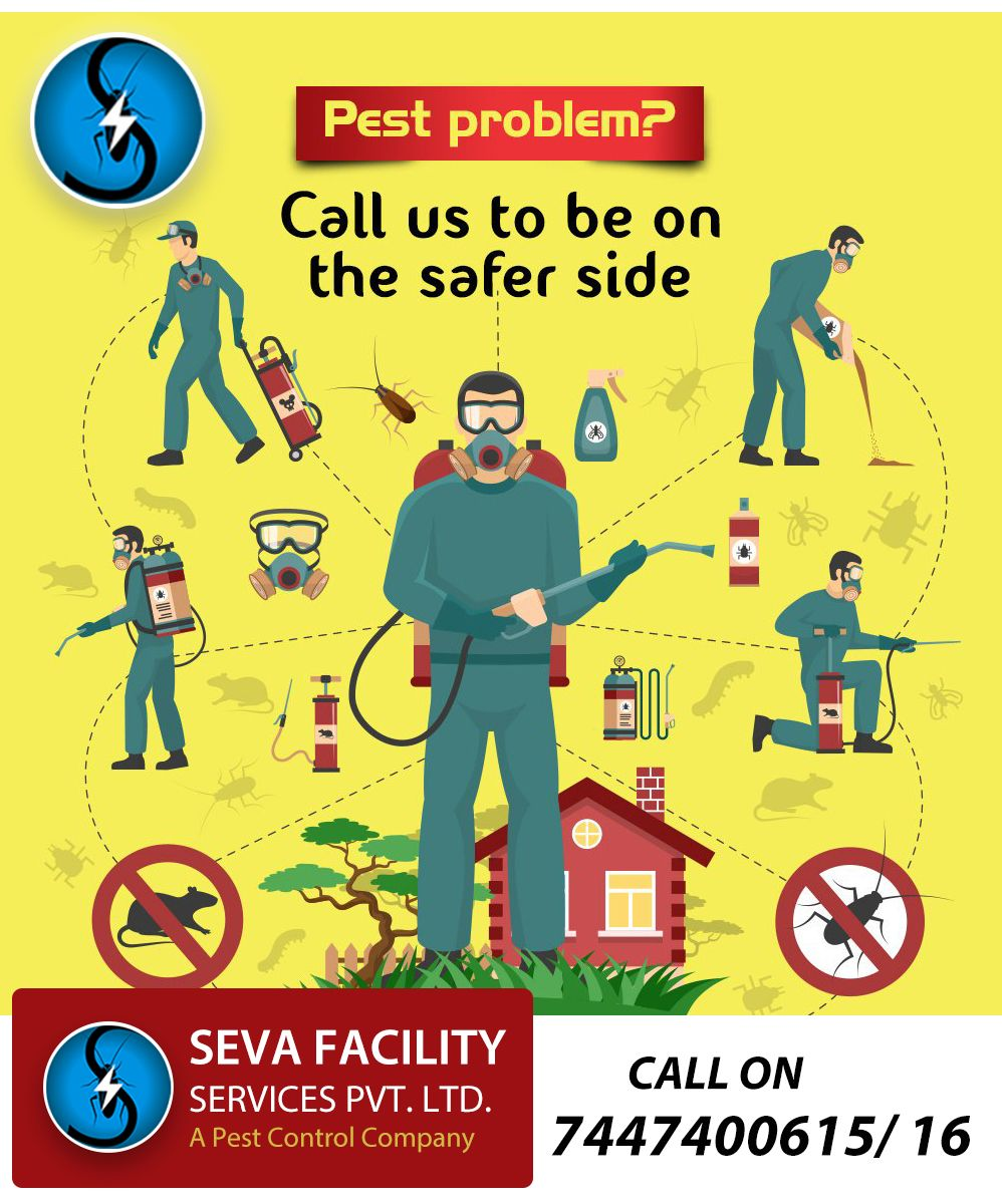 Stop Pests With Seva Facility Services Keep Your Environment Pest Free Head Office Is At Pune Maharashtra In 2020 Pest Control Services Pest Problem Pest Control