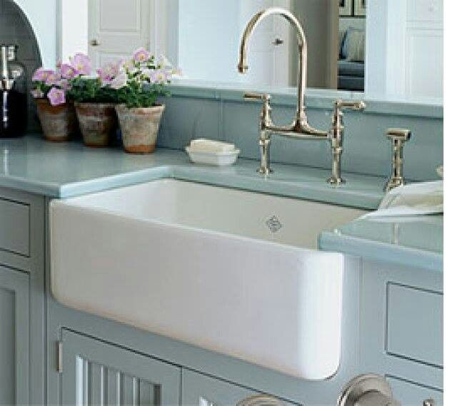 Blue Kitchen Sink Island Ikea Soft Counters And Cabinets Home Decor Pinterest