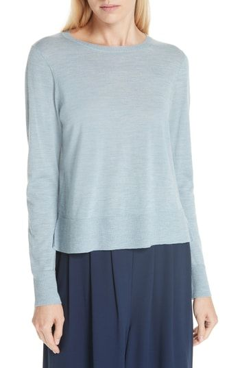 Enjoy Exclusive For Eileen Fisher Boxy Merino Wool Sweater Womens
