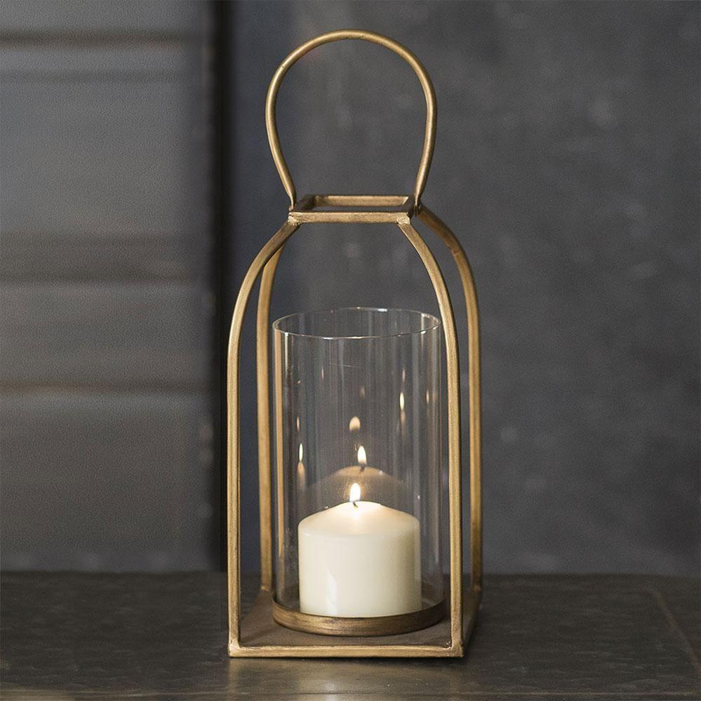 Large Tribeca Lantern In 2021 Metal Candle Lanterns Metal Lanterns Brass Lantern