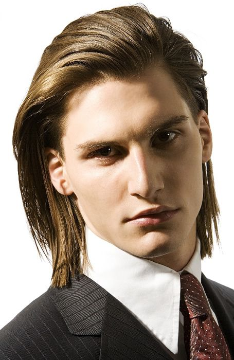 Easy Long Hair Style For Boys By Armani Company Long Hair Styles Men Long Hair Styles Boys Long Hairstyles