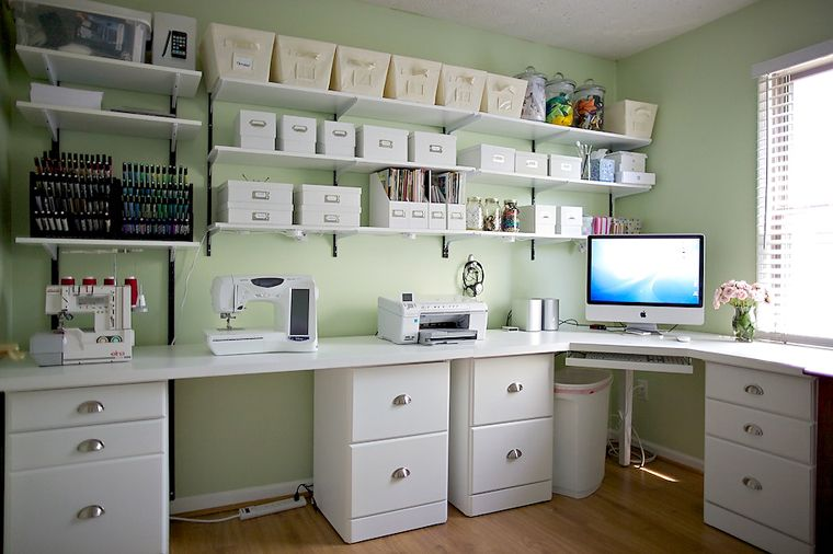 Sewing Rooms Ideas With Images Small Craft Rooms Craft Room Storage Craft Room Design