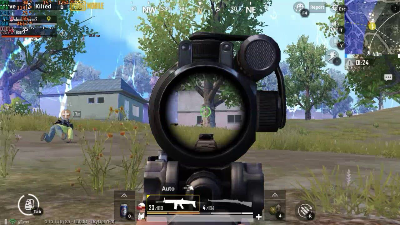 Playin PUBG mobile on a old pc core2duo E8400 with 60FPS system