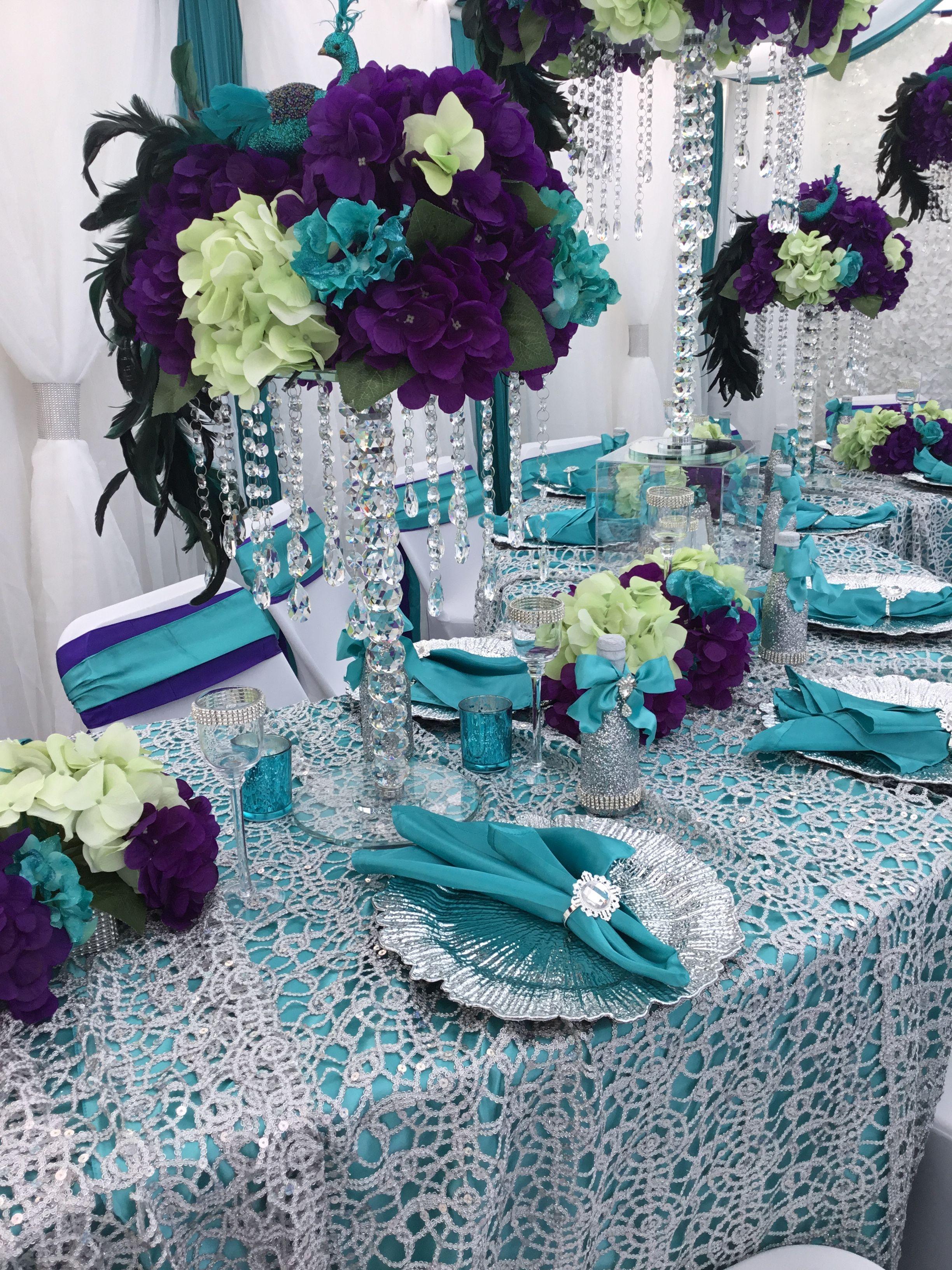 Peacock Theme Centerpieces Peacock Wedding Theme Peacock