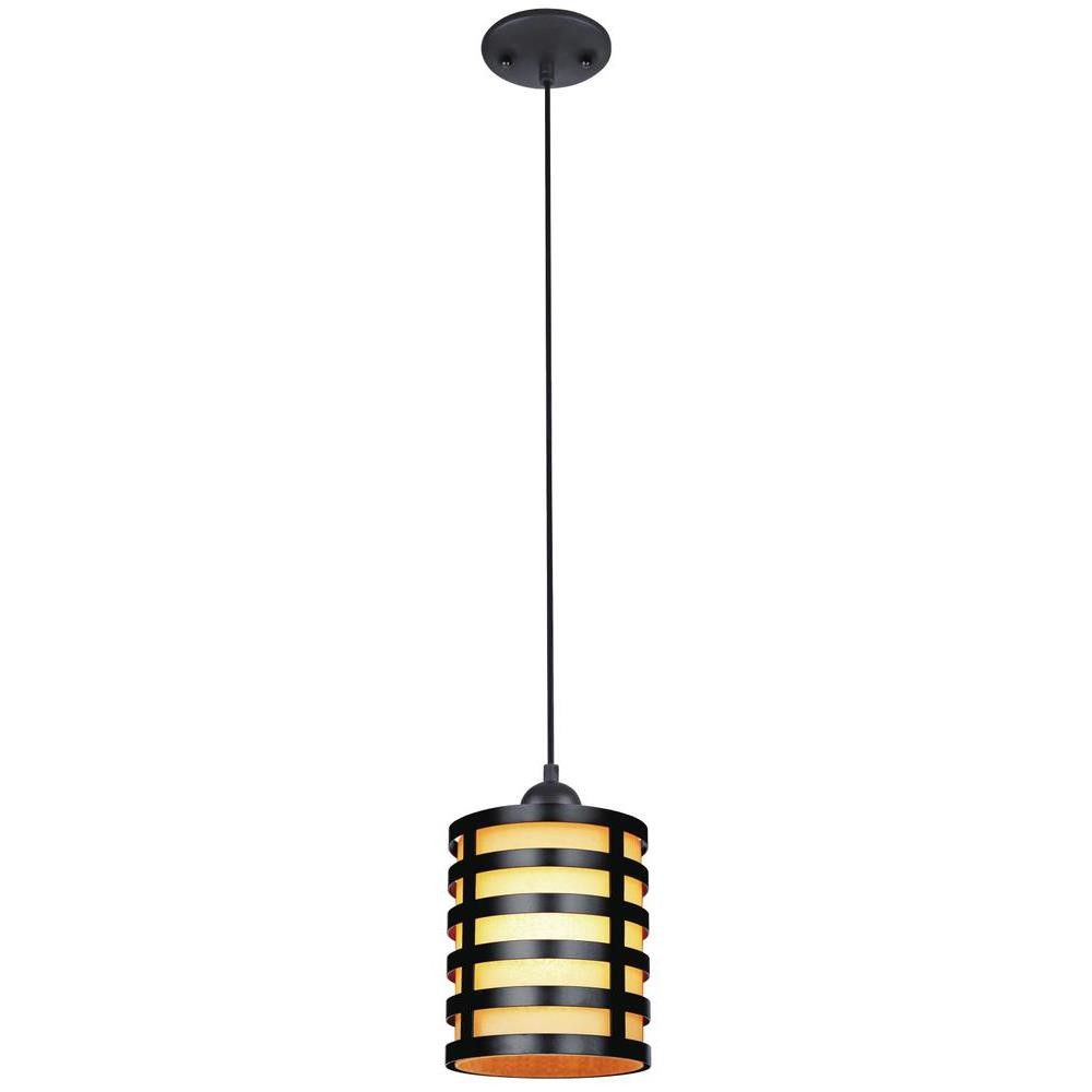 Westinghouse Lighting 1 Light Mini Pendant With Images Light Bulb Bases Amber Glass Glass Shades