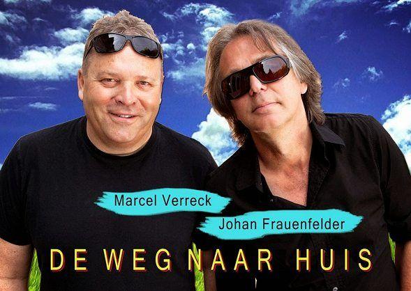 15 Nov - De weg naar huis - Diamant  Theater - http://www.wijkmariahoeve.nl/15-nov-de-weg-naar-huis-frauenfelder-en-verreck/ - Diamant Theater - De weg naar huis - 15 November Johan Frauenfelder (de Règâhs) en Marcel Verreck (Verreck & Pleijsier) hebben de handen ineen geslagen voor een uniek project. De twee Hagenezen (eentje van 'het veen', eentje van 'het zand') maken een humoristische muzikaal-literaire reis door de wereld en dan met name door hun eigen wer