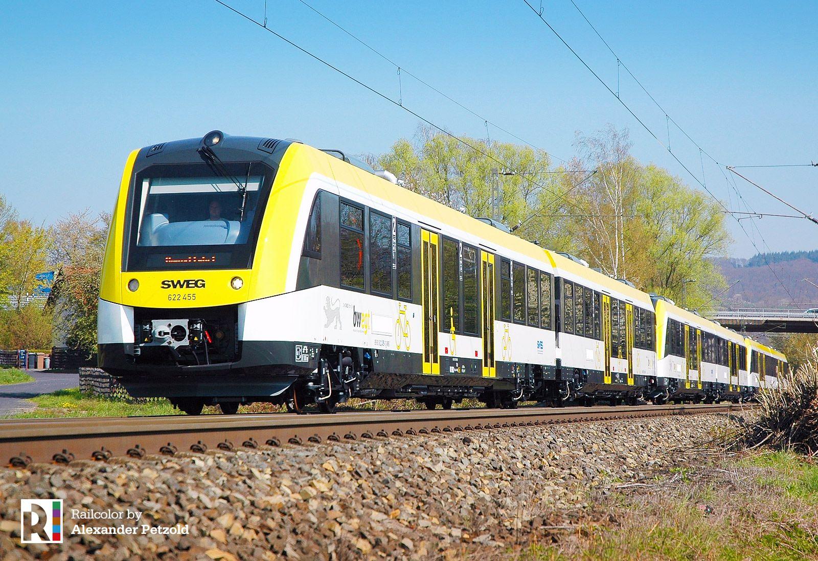 De Hzl Sweg Coradia Lint For Ulmer Stern Network Updated