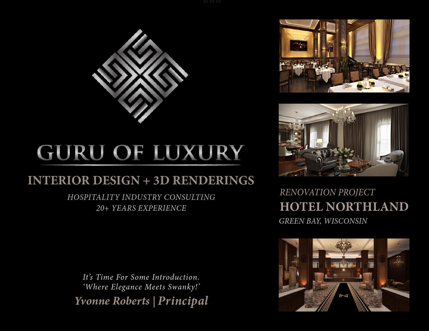 Guru Of Luxury Interior Design 3d Renderings Hotel Northland Green Bay Wi
