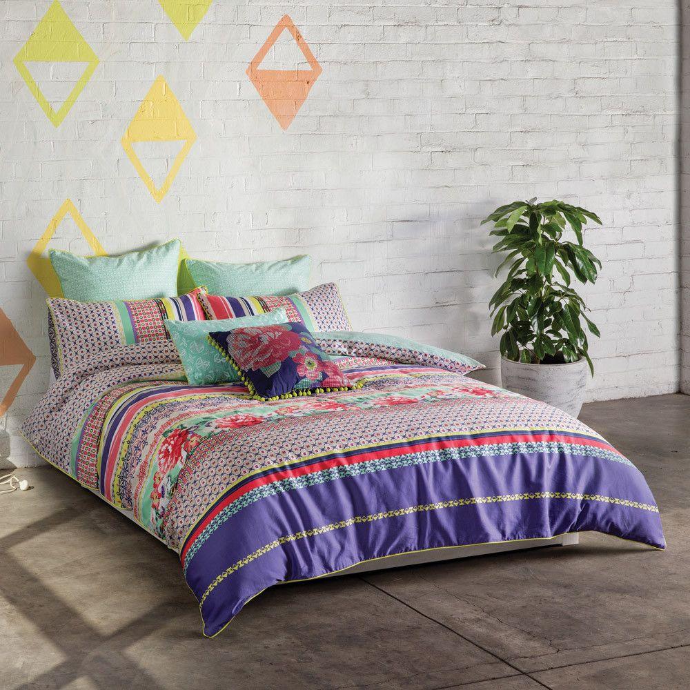 * Cotton Duvet Cover Sets Include Queen (210 x 210cm) 1x