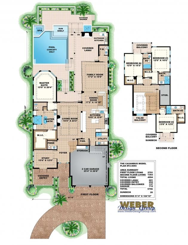 beach house plan west indies waterfront style home floor