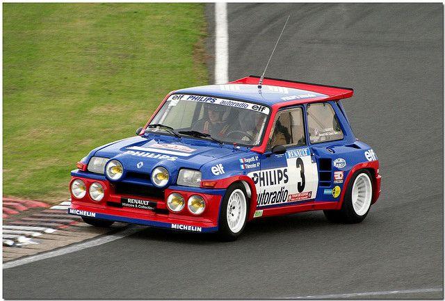 Znalezione obrazy dla zapytania Renault 5 Maxi Turbo Rally