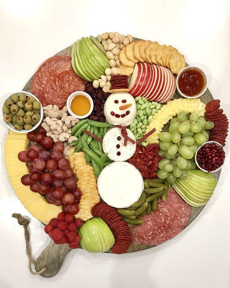 Snowman Snack Board | The BakerMama