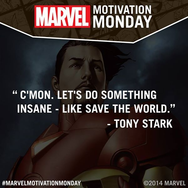 #MarvelMotivationMonday