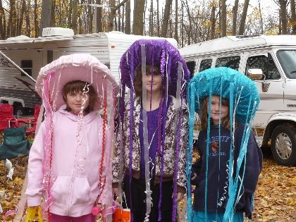 jellyfish costume Cosplay / Halloween Pinterest Homemade - scary homemade halloween costume ideas