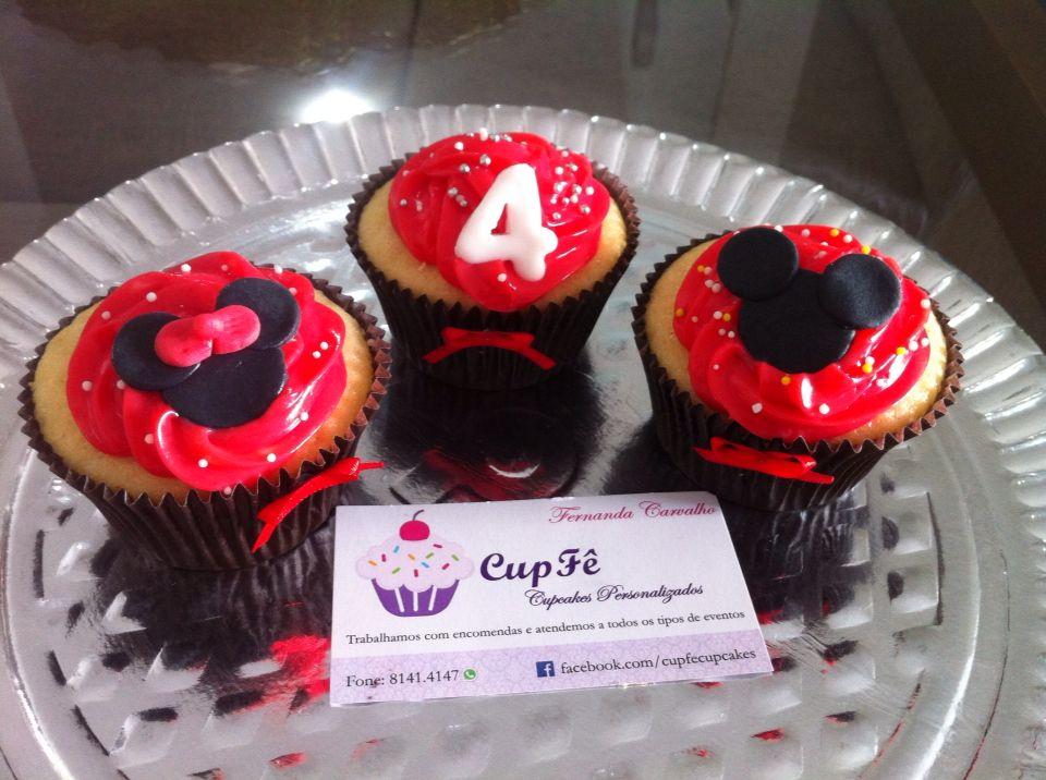Cupcake Minnie e Mickey