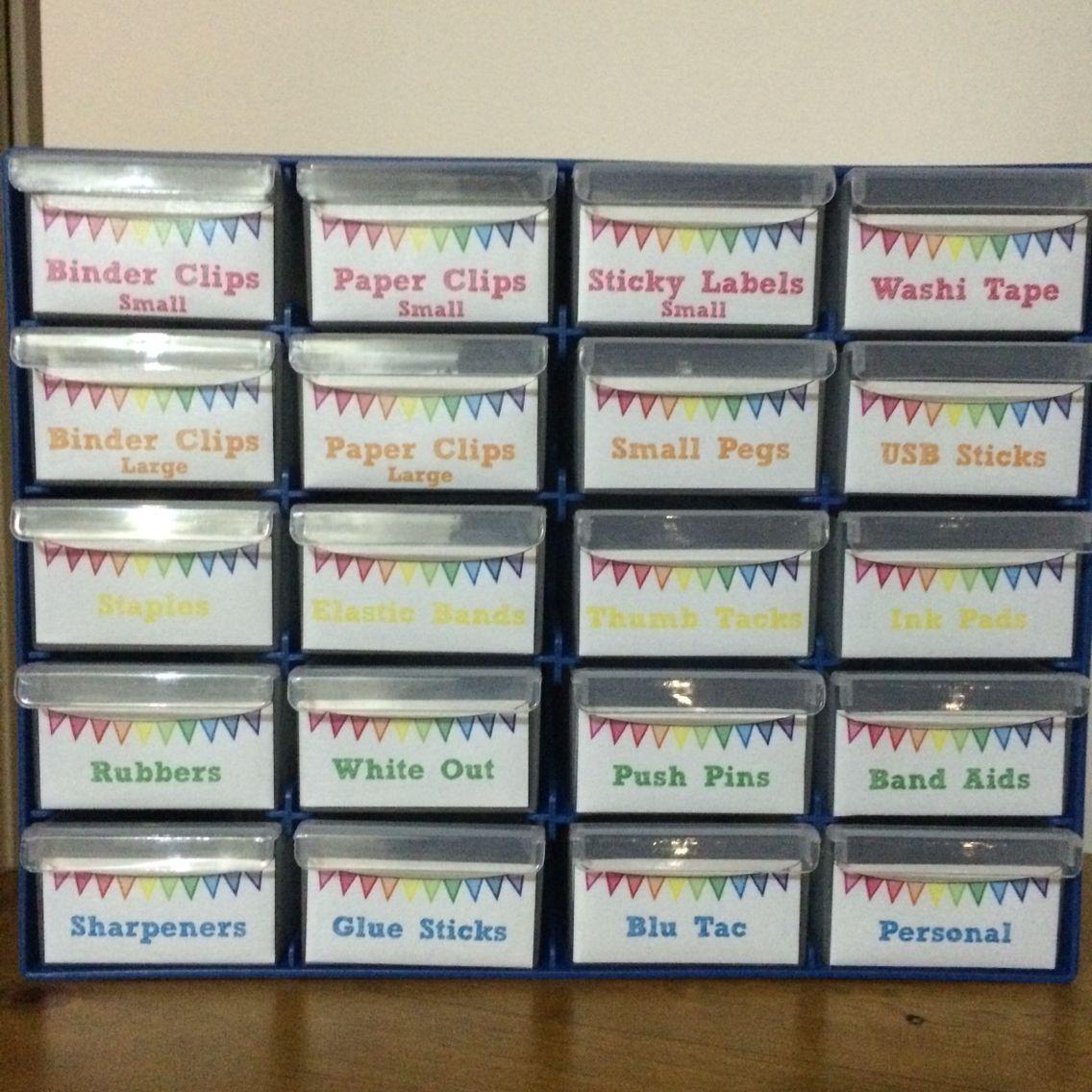 Teacher Classroom Decor Australia ~ Teacher toolbox using storage system from bunnings
