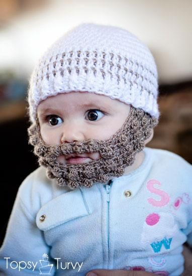 Crochet Bobble Beard pattern   DIY Jewelry & Crafts 2   Pinterest ...