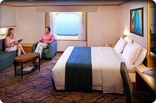 RHAPSODY OF THE SEAS - cabine externa com vista para o mar  | PicadoTur - Consultoria em Viagens | Agencia de viagem | picadotur@gmail.com | (13) 98153-4577 | Temos whatsapp, facebook, skype, twiter.. e mais! Siga nos|