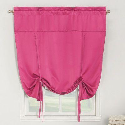 Sun Zero Groton Tie-Up Shade Color: Pink