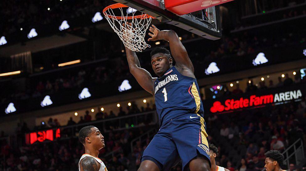Amazing 360 dunk by rookie in NBA preseason in 2020