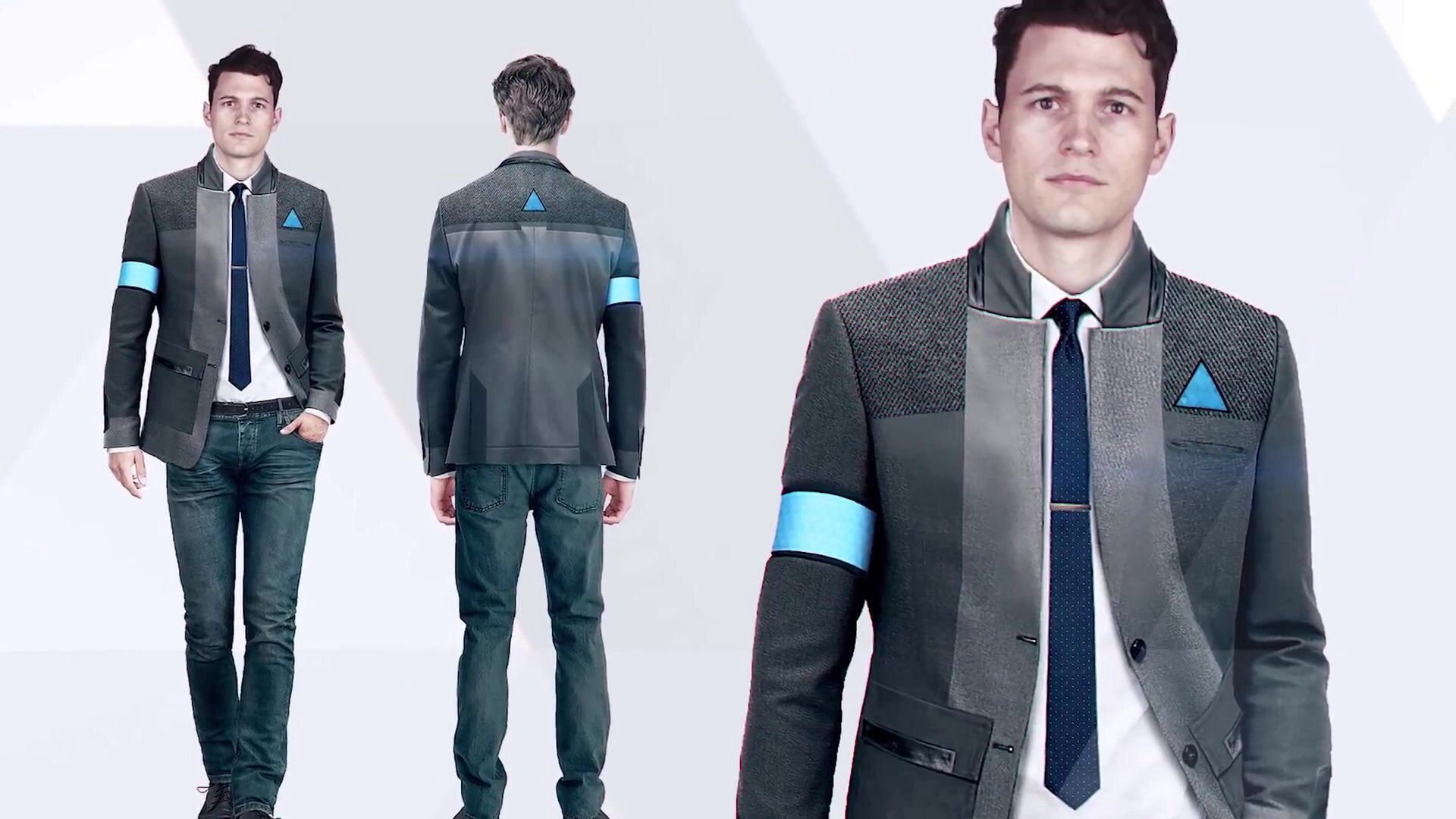 Detroit Become Human Connor Concept Art Detroit Become Human Connor Detroit Become Human Detroit Become Human Game
