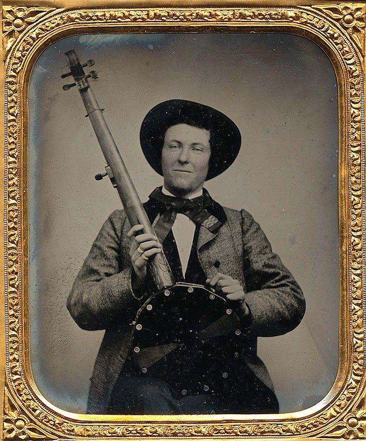 (c.1850s-1860s) Musician (Banjo Player)