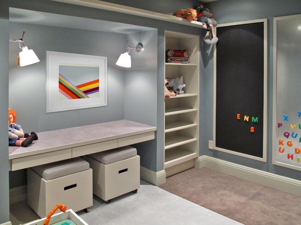 Basement Redux - contemporary - kids - denver - BARRETT STUDIO architects