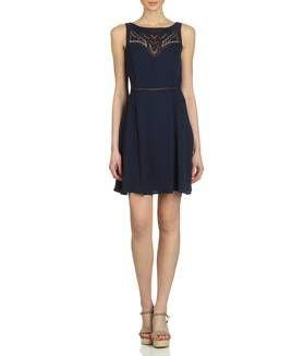 ca4c5683b647a Robe brodée BLEU MARINE NAF NAF   Dresses Skirts   Pinterest ...