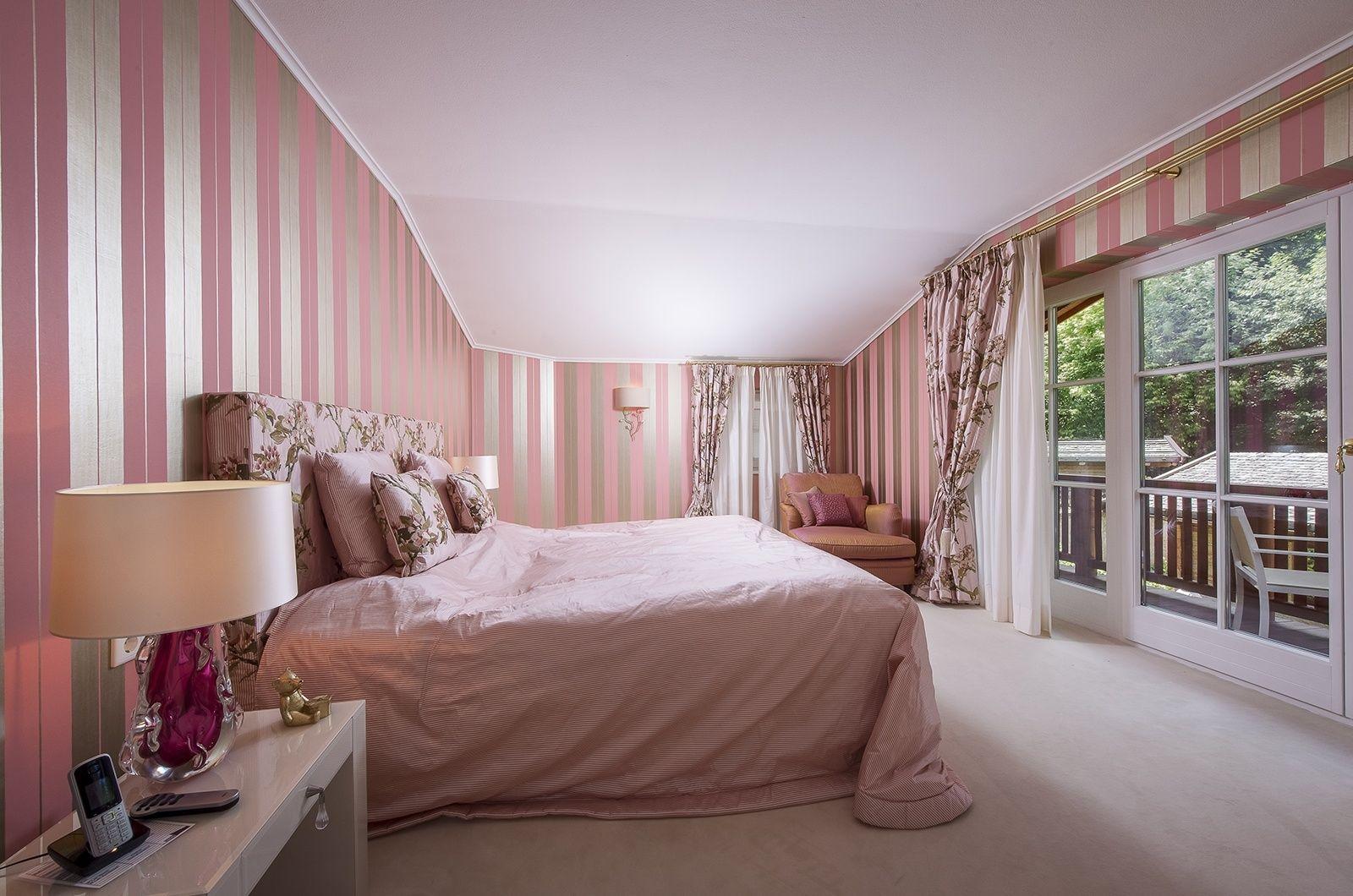 Rosa Schlafzimmer läd zum Träumen ein Die Stadtoase