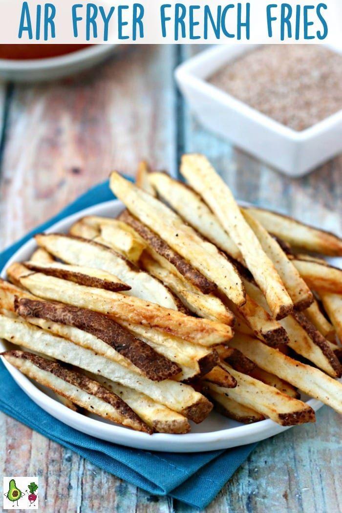Air Fryer French Fries with Seasoned Salt Recipe Air