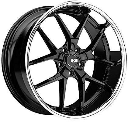 Amazon Com Xo Rim Athens 22x9 5x115 Offset 15 Gloss Black W