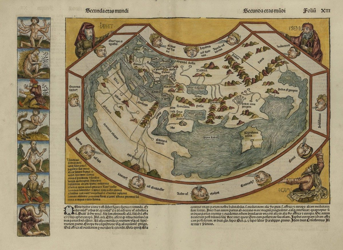 Nuremberg chronicle world map 1493 maps as art pinterest nuremberg chronicle world map 1493 gumiabroncs Gallery