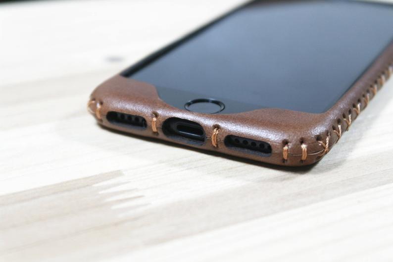cover iphone 8 plus in pelle