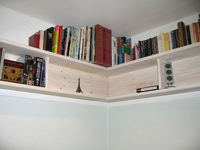 Diy Bookshelves July 24 2017 Corner Wall Knowing The Types Of